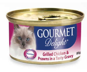 Gourmet delight cat food