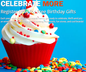Join Huledet To Get Free Birthday Gifts