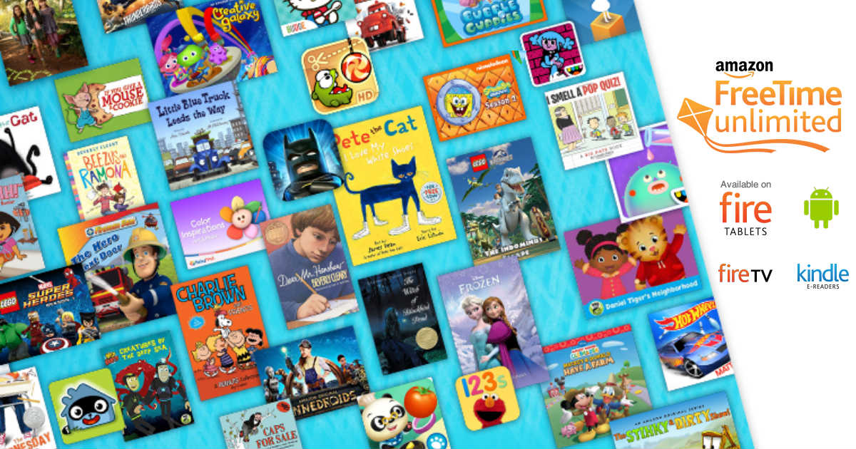 Free Access to Amazon's FreeTime Unlimited for Kids for 30 Days