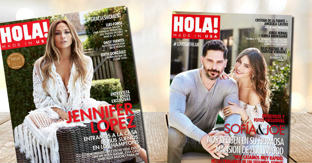 Complimentary Subscription to HOLA! Magazine
