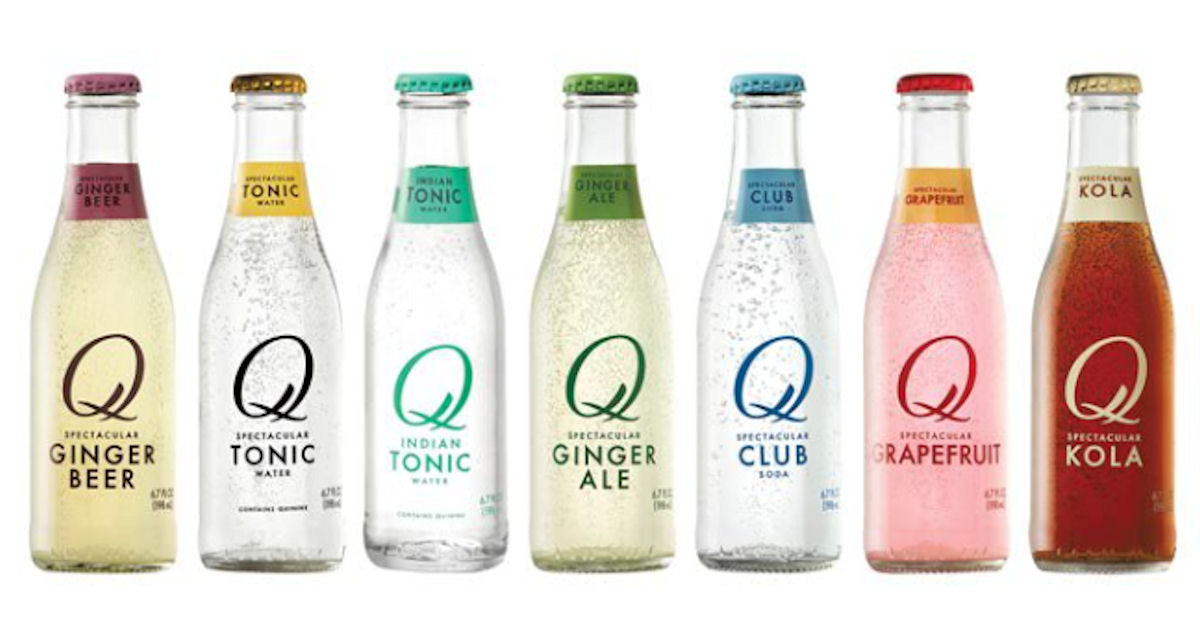 Free Q Drinks Carbonated Mixer Beverage