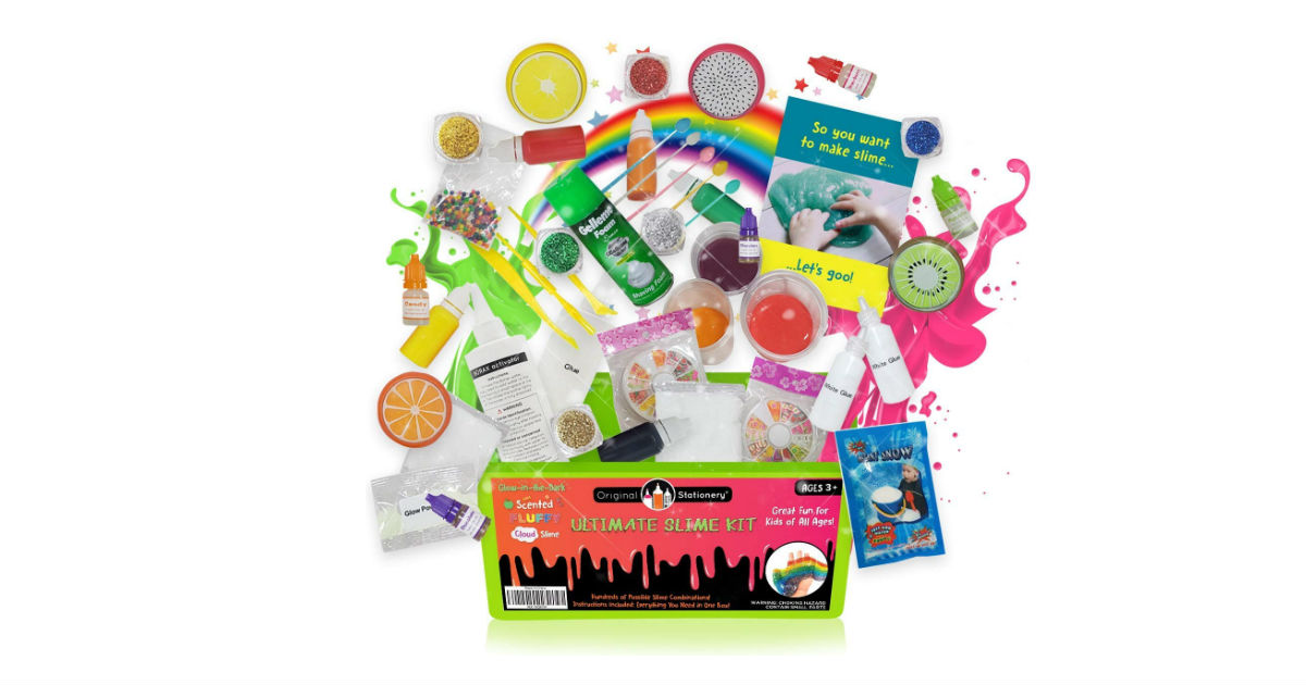 Ultimate Slime Kit ONLY $13.45 on Amazon
