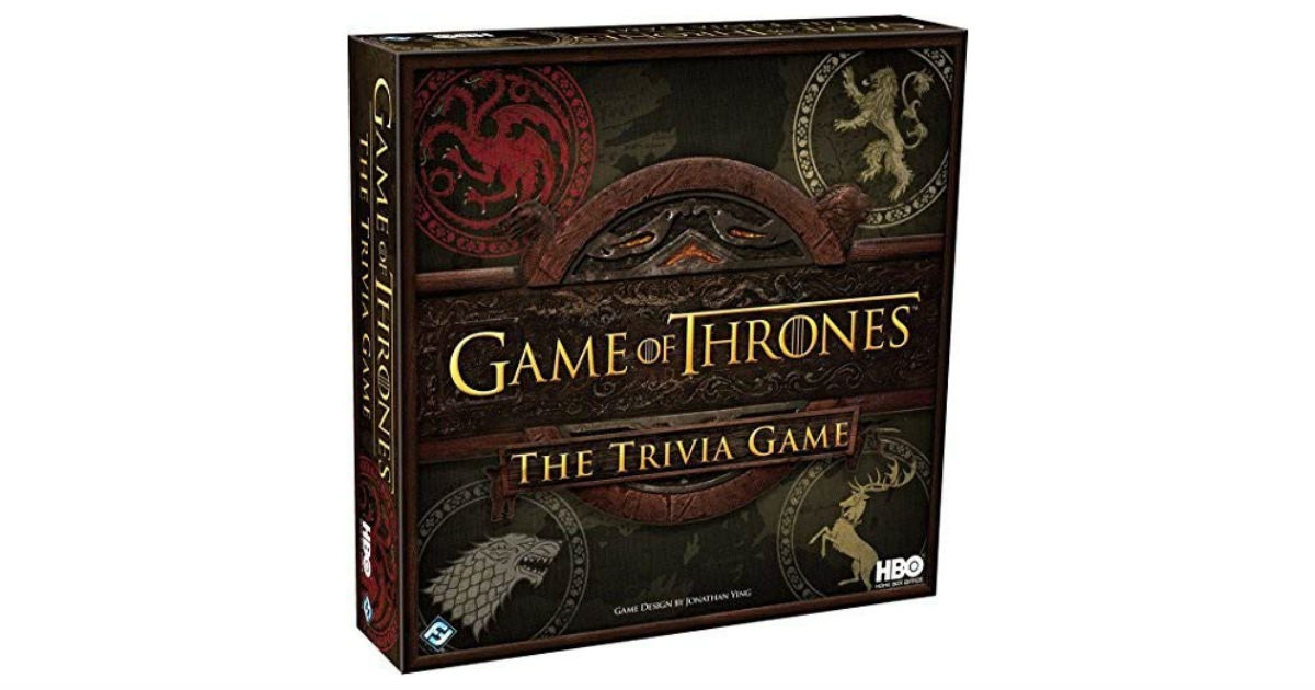 HBO Game of Thrones Trivia Game ONLY $20.99 (Reg. $40)