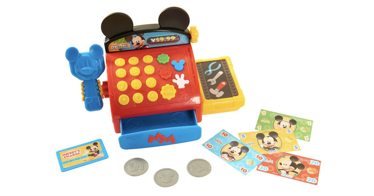 Mickey Mouse Cash Register ONLY $8.88 (Reg $22) at Walmart