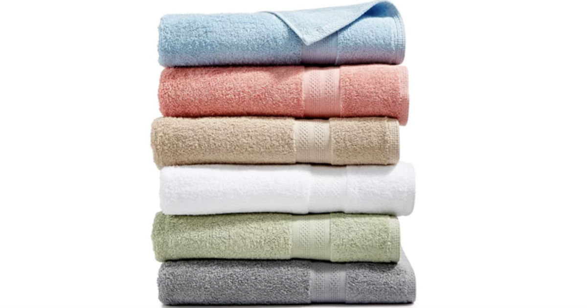 Sunham Soft Spun Cotton Bath Towels ONLY $2.99 (Reg $14)