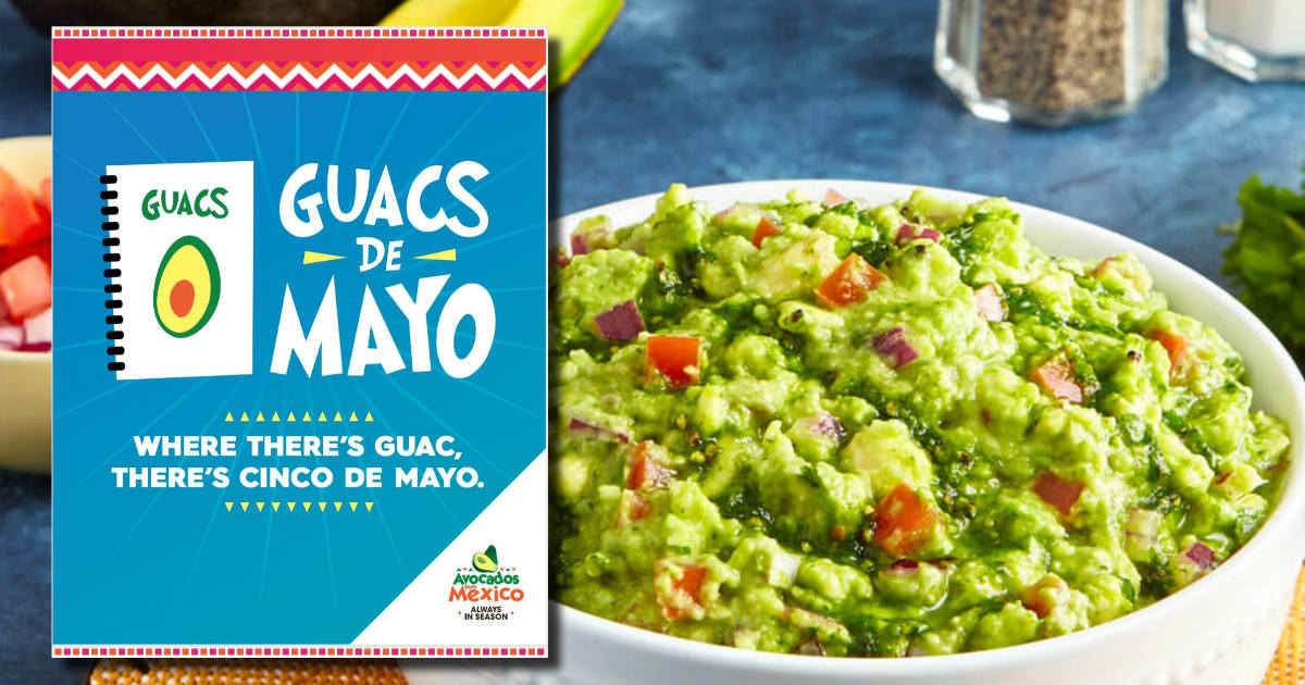 Free Avocados from Mexico Recipe Book