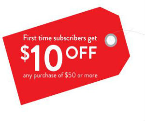 Christmas Tree Shops - Coupon for $10 off any $50 Purchase ...